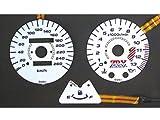 オダックス(Odax)  ELメーターパネル AC type ホワイトパネル ZRX1200S(03-08) ZRX1200R(03-08) OXP-311033-AC