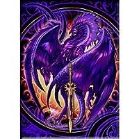 "Thompson Ruth Dragonblade Netherblade, Officially Licensed Original Artwork, Premium Quality MAGNET - 2.5"" x 3.5"""