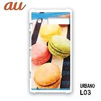 アルバーノL03 URBANO L03 スマホケース カバー マカロン RB-726B