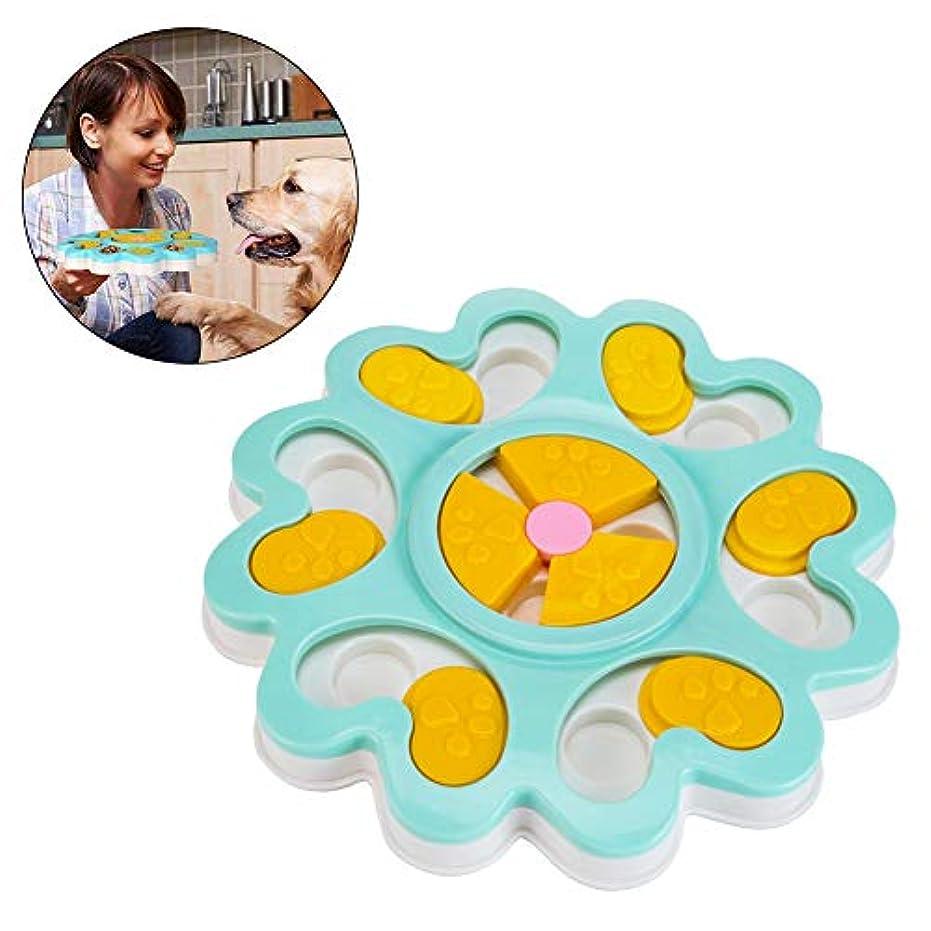 Creacom ペット食器 早食い防止 フードボウル 肥満解消 ゆっくり食べる 過剰給餌防止 犬用知育玩具 ペット用おもちゃ 健康 多機能 猫犬用品