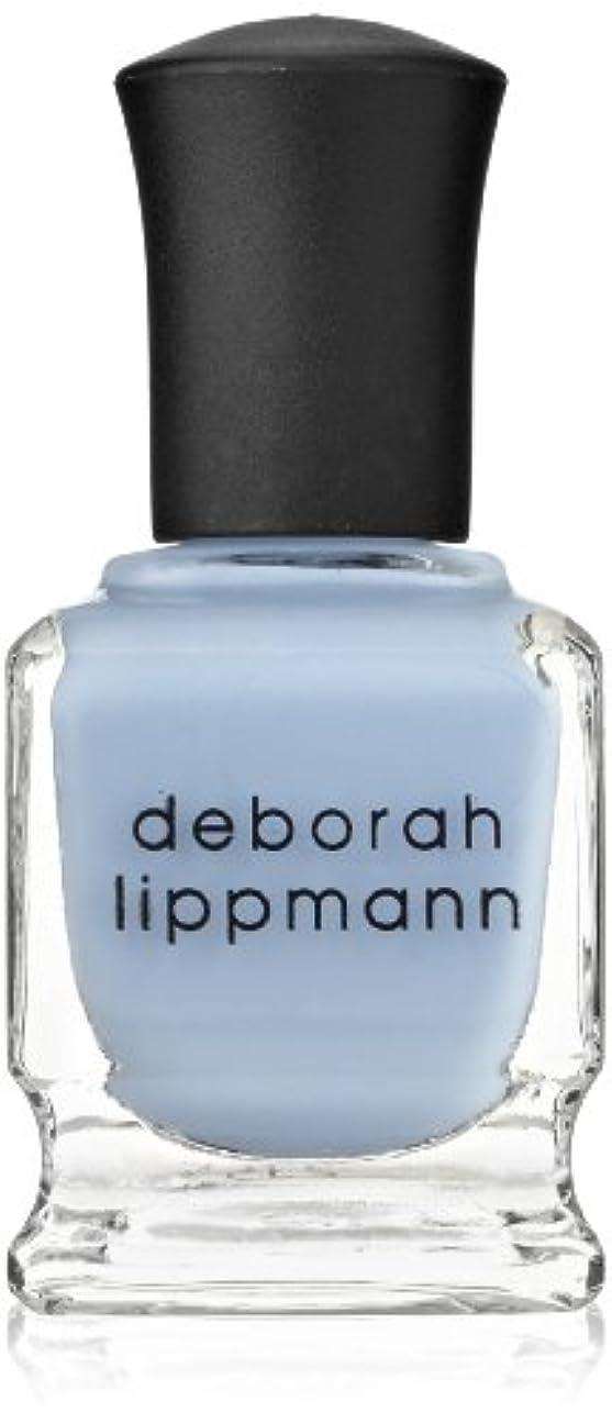 ライター好戦的な商人【Deborah Lippmann デボラリップマン】 ブルーオーキッド BLUE ORCHID パステルブルー 15mL