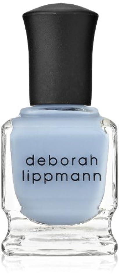 受取人哀逸脱【Deborah Lippmann デボラリップマン】 ブルーオーキッド BLUE ORCHID パステルブルー 15mL
