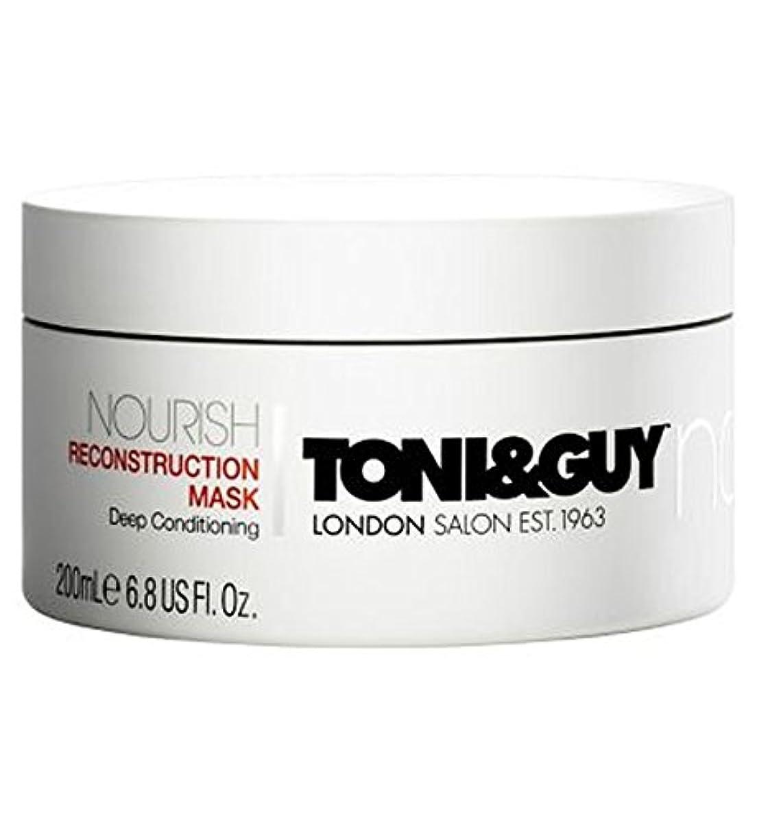 メーター醸造所ちらつきトニ&男は復興マスク200ミリリットルを養います (Toni & Guy) (x2) - Toni&Guy Nourish Reconstruction Mask 200ml (Pack of 2) [並行輸入品]