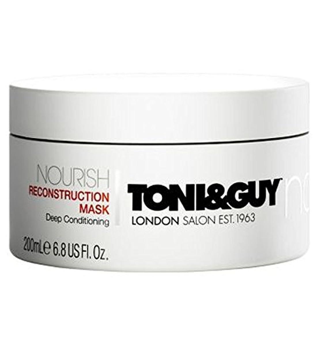 検出可能飲料パトロールトニ&男は復興マスク200ミリリットルを養います (Toni & Guy) (x2) - Toni&Guy Nourish Reconstruction Mask 200ml (Pack of 2) [並行輸入品]