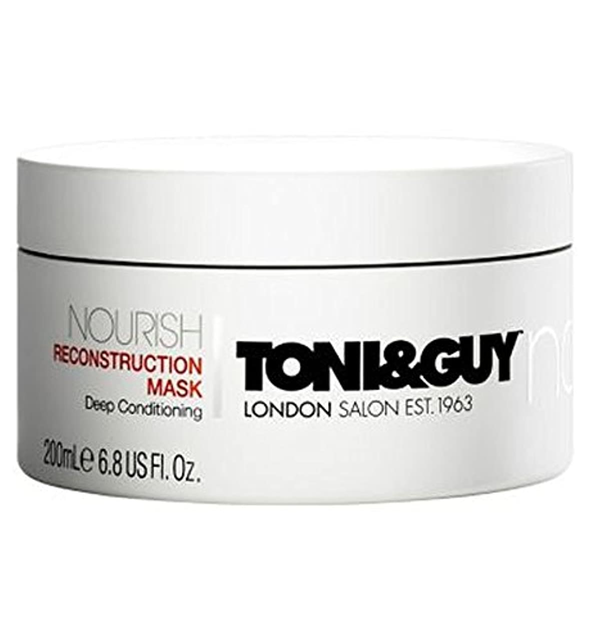 物理的な別れる落ち着くToni&Guy Nourish Reconstruction Mask 200ml - トニ&男は復興マスク200ミリリットルを養います (Toni & Guy) [並行輸入品]