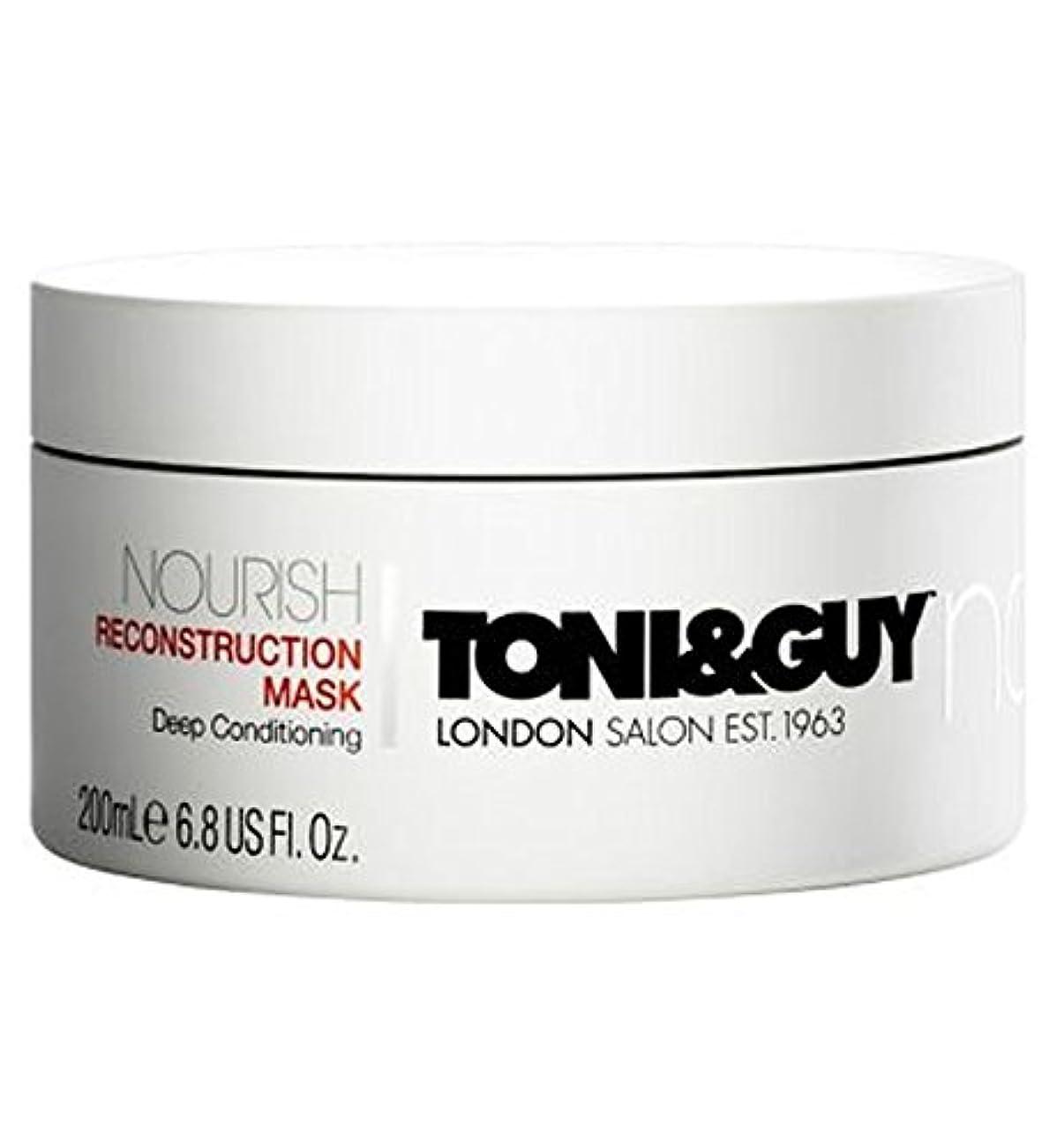 病者膨らませる地上のToni&Guy Nourish Reconstruction Mask 200ml - トニ&男は復興マスク200ミリリットルを養います (Toni & Guy) [並行輸入品]