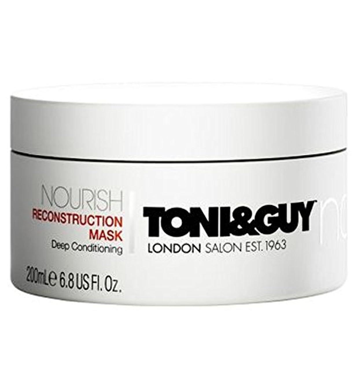 添加剤模索恩恵Toni&Guy Nourish Reconstruction Mask 200ml - トニ&男は復興マスク200ミリリットルを養います (Toni & Guy) [並行輸入品]