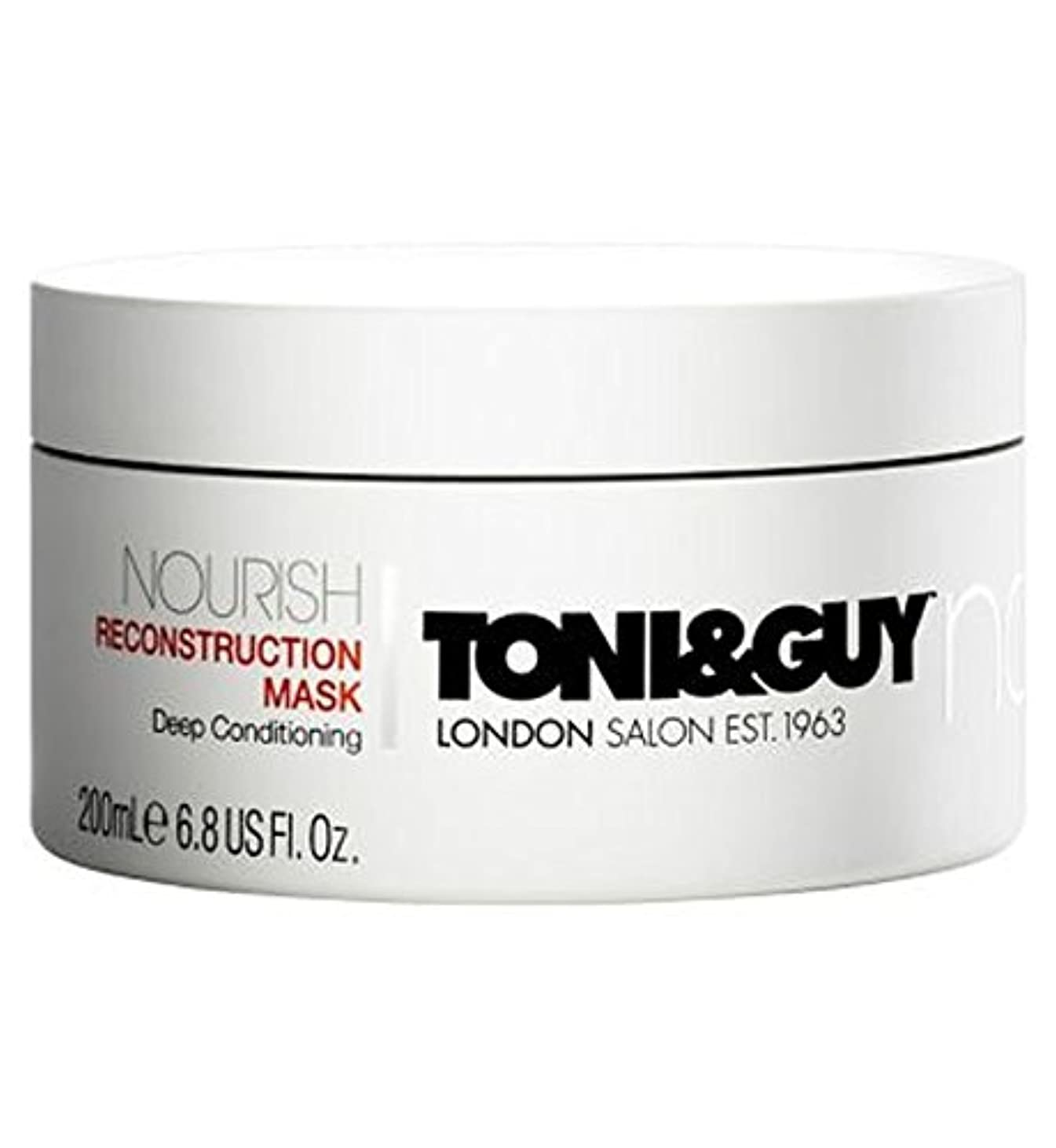 常識故国バーゲンToni&Guy Nourish Reconstruction Mask 200ml - トニ&男は復興マスク200ミリリットルを養います (Toni & Guy) [並行輸入品]