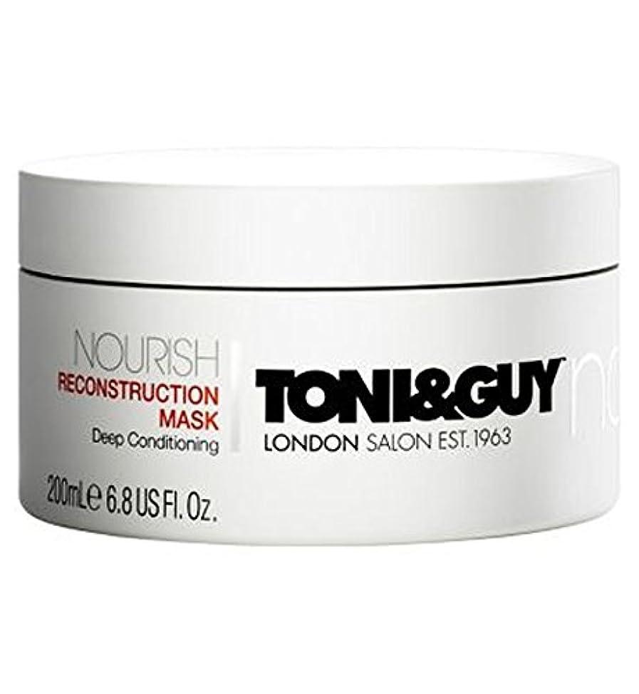 ボイコットホステス母音Toni&Guy Nourish Reconstruction Mask 200ml - トニ&男は復興マスク200ミリリットルを養います (Toni & Guy) [並行輸入品]