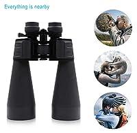 双眼鏡、ハイパワーHD 20-180x100高解像度暗視光学ズーム双眼鏡防水屋外望遠鏡