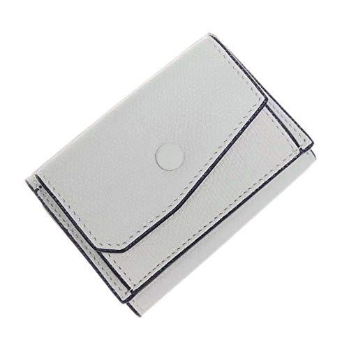 [VALEXTRA(ヴァレクストラ)] 三つ折りレザー財布(小銭入れ付き) V8L26 028 メンズ [並行輸入品]