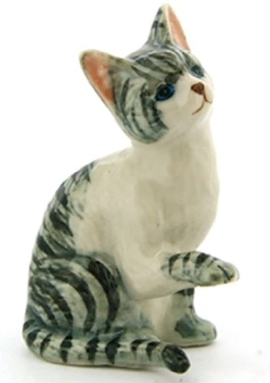3 D Ceramic Toy Cat No.4 Dollhouse Miniatures Free Ship by ChangThai Design [並行輸入品]