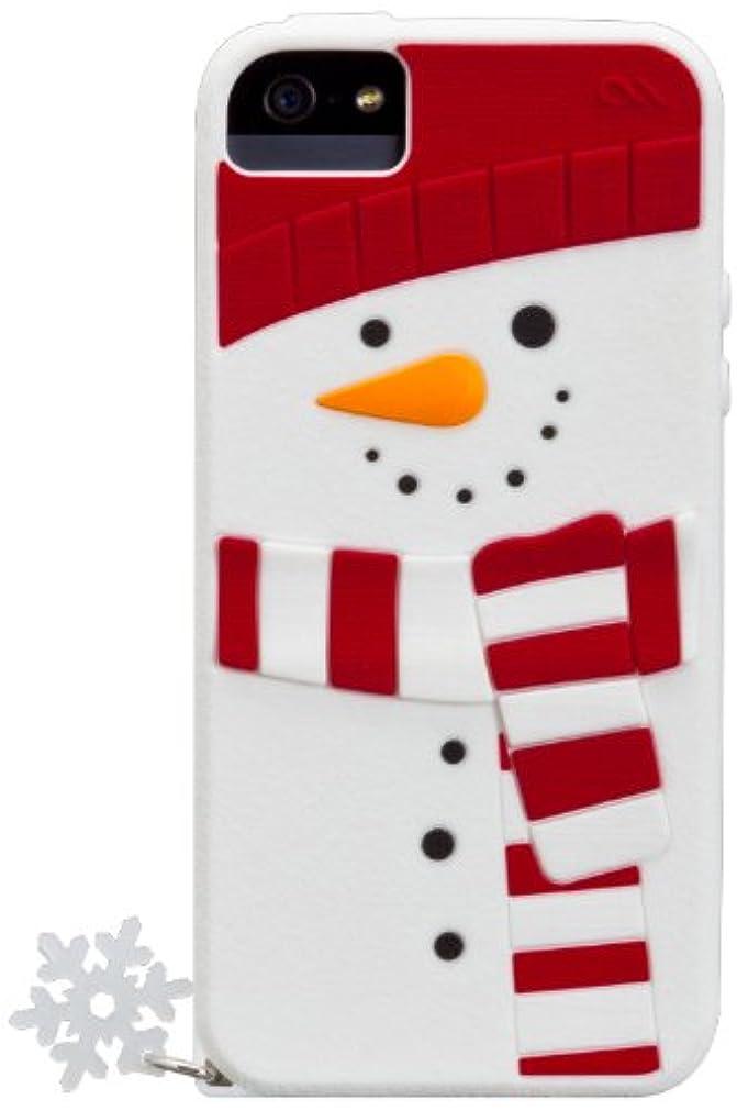 知っているに立ち寄る軍隊自転車Case-Mate 日本正規品 iPhone5s / 5 CREATURES: Snowman Case, White クリーチャーズ: スノーマン シリコン ケース, ホワイト CM025106