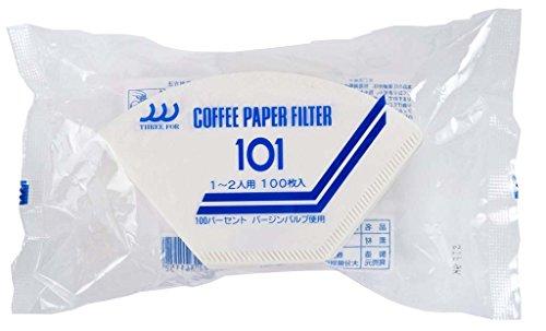 [해외]산요 산업 THREE FOR (쓰리 포) 커피 필터 NO 시리즈 1 ~ 2 인용 100 매 NO-101-100/Sanyo Industry THREE FOR (three for) coffee filter NO series 1 to 2 people 100 sheets NO-101-100