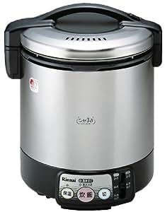リンナイ 電子ジャー付きガス炊飯器(都市ガス12A・13A用) 【こがまる】  2~11合 ブラック RR-100VL-13A