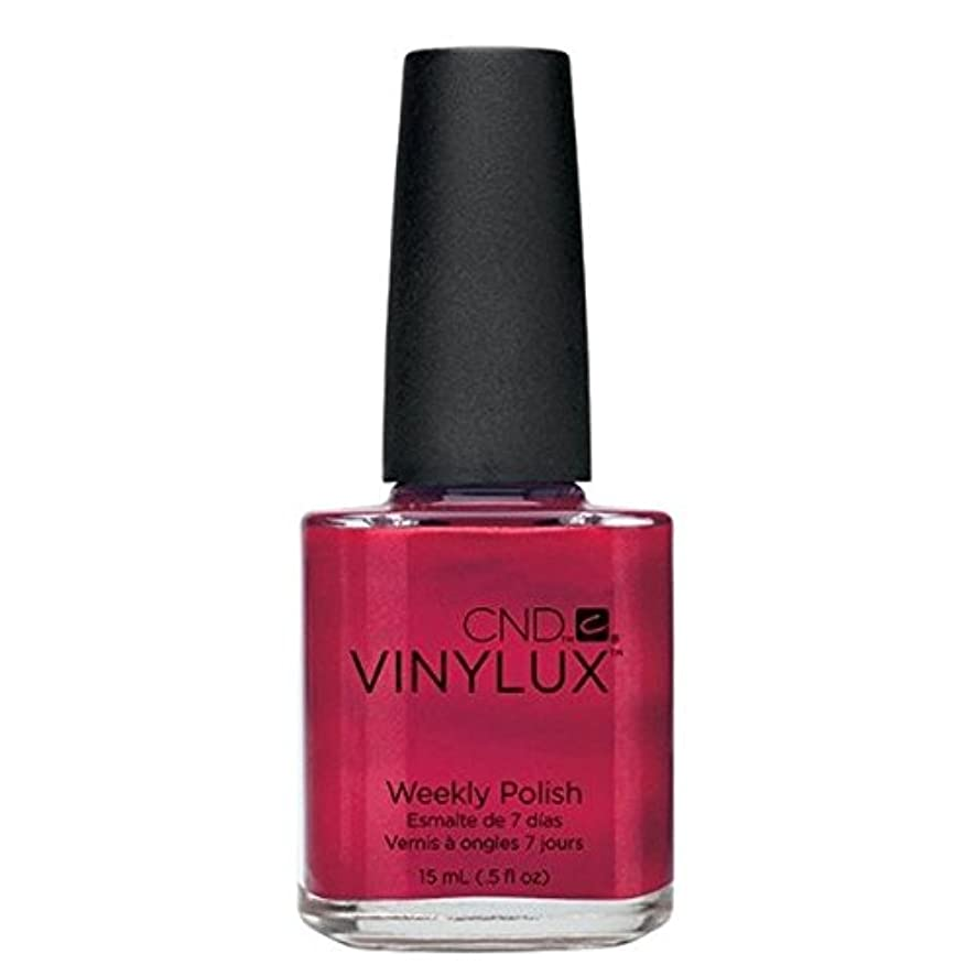 ヘルメット酔った骨の折れるCND Vinylux Manicure Lacquer _ Hot Chilis  #120 _15ml (0.5oz)