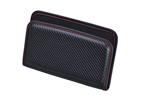 セイワ(SEIWA) 車用 ポケット フィットポケット L カーボン カーボン柄 ブラック W844