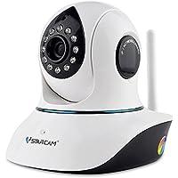 Vstarcam ネットワークカメラ IPカメラ 防犯カメラ 赤ちゃん ペット 防犯 監視 ベビーモニター 200万画素 1080P 遠隔操作(C38S-ブラック)