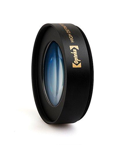 Opteka Achromatic 10x ジオプター 接写 マクロレンズ Nikon 1 J5, J4, J3, J2, S2, S1, V3, V2, V1およびAW1コンパクトミラーレスデジタルカメラ用 40.5~52mmのネジ式レンズにフィット