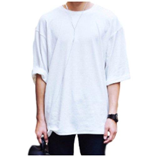 (ワン アンブ) ONE UMB SHT2 WH XL ゆるt シャツ ユル tシャツ 紳士 シンシ メンズ 男 メン 男性 男子 男の子 ボーイ ボーイズ 半袖 ハンソデ 半そで はん袖 なが袖 長袖 ナガソデ 長そで グレー 白 ゆるtシャツ ゆるT Tシャツ ユッタリ カットソー 七分丈 七分 五分丈 五分 九分袖 七分袖 五分袖 7分丈 七部丈 七部袖 7部丈 7部袖 5部 五部 七部