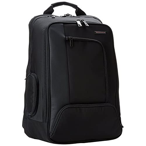 Briggs & Riley Accelerate Backpack Black One Size [並行輸入品]