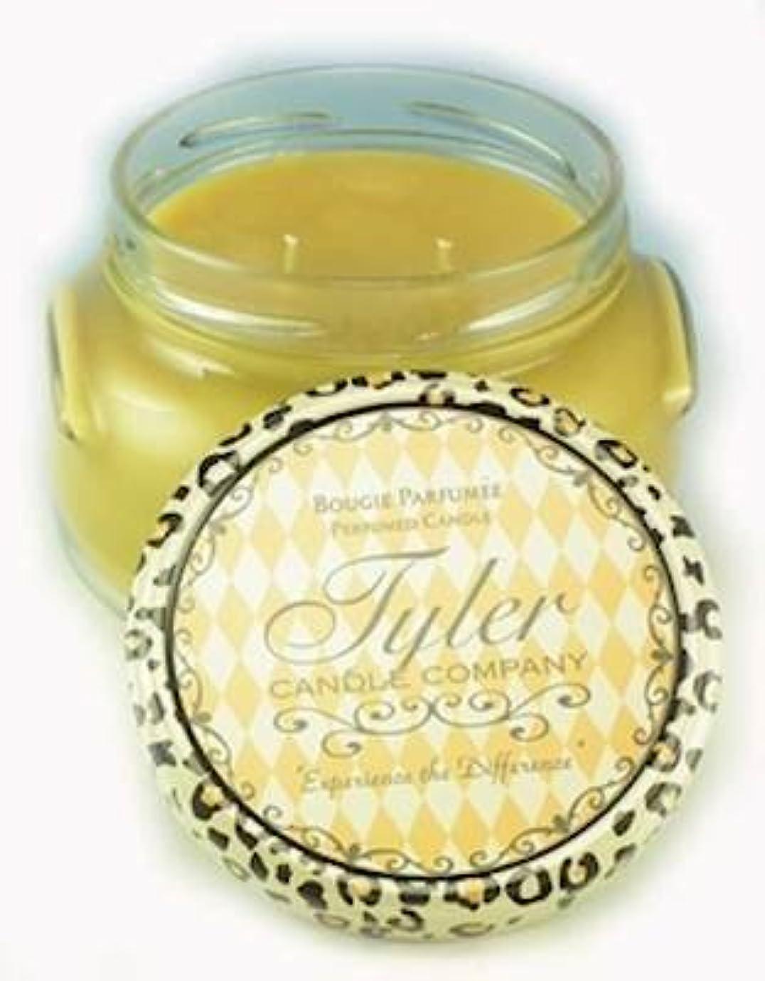 ブラシモバイル剛性Connoisseur Tyler 11 oz Medium香りつき2-wick Jar Candle