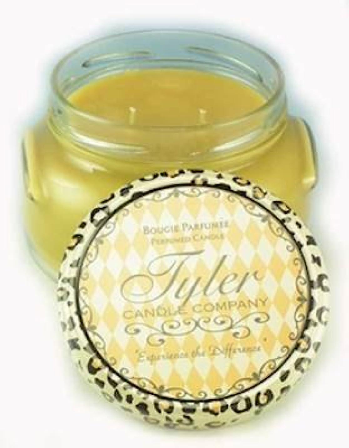 申請中致命的ありがたいConnoisseur Tyler 11 oz Medium香りつき2-wick Jar Candle