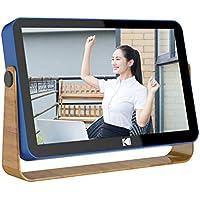 KODAK WiFiデジタルフォトフレーム10.1インチ IPSタッチスクリーン高解像度、内蔵リチウム電池、Appを通じていつでもどこでも写真やビデオを共有する。日本語説明書(青)