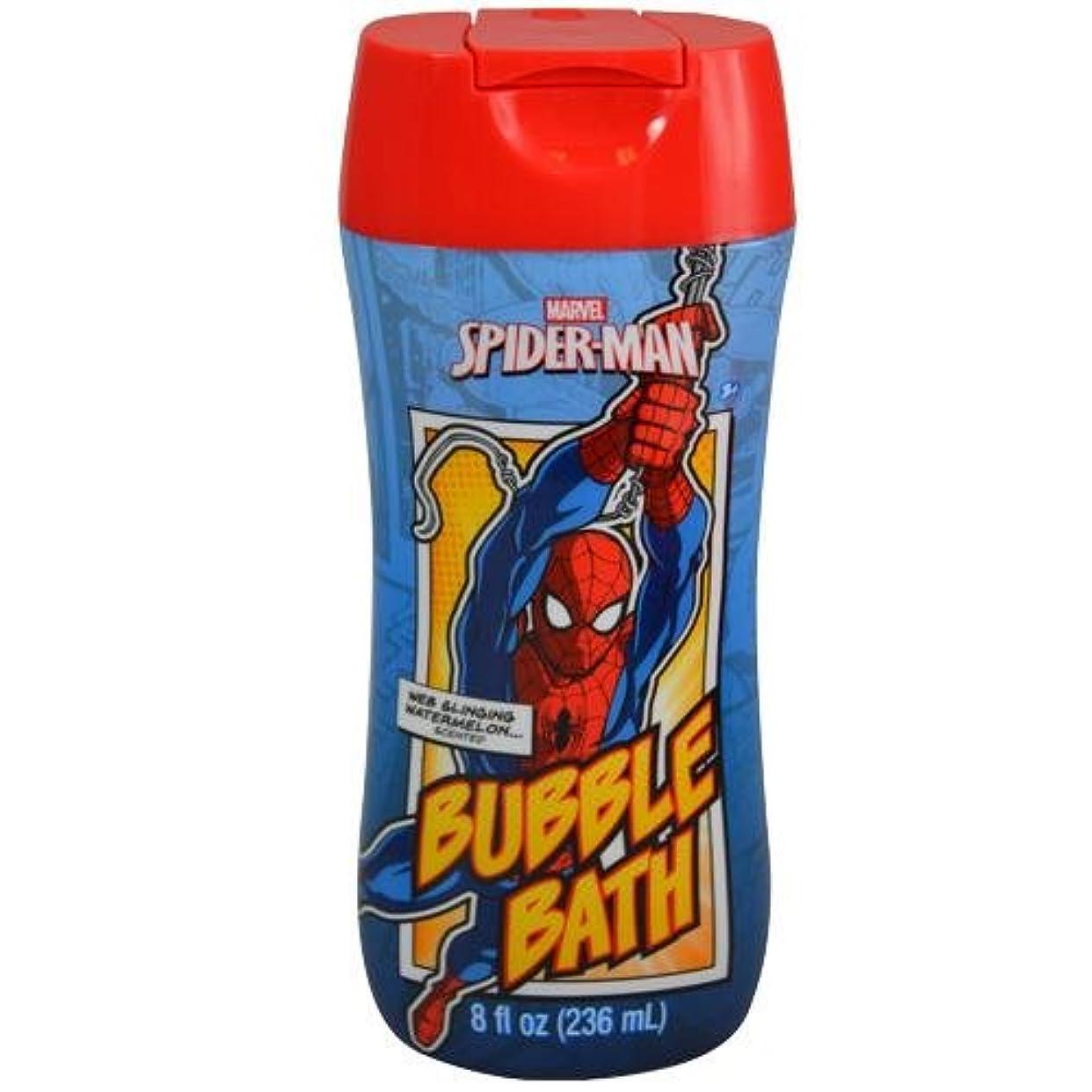 背骨恐怖症ハーネススパイダーマン SPIDER-MAN バブルバス 12190 MARVEL 入浴剤 お風呂 子供 子供用 キッズ 泡 バブル 泡風呂 MARVEL マーベル【即日?翌日発送】