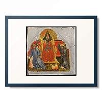タッデーオ・ディ・バルトーロ Taddeo di Bartolo 「Scene from the life of St. Francis: St. Francis Before the Sultan of Babylonia.」 額装アート作品