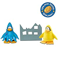 Disney Club Penguin Mix 'N Match Figure Pack - Squidzoid and 12th Fish