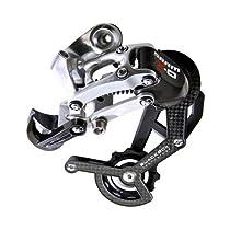 SRAM X.0 ESP マウンテンバイク変速装置 8/9速ミディアムロングケージ (カラー: カーボン)