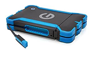 G-Technology (HGST) G-DRIVE ev ATC Thunderbolt対応 1TB  外付ポータブルハードディスクドライブ 【3年保証】 0G03589AZ