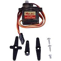 MR.RC M-1502 RCヘリコプター車用標準サーボモータメタルギア(黒)