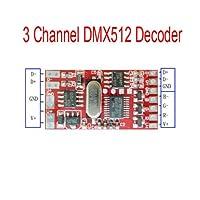 FidgetGear 6A 144W 3チャネルDMX512のデコーダー板LED DJ RGBの段階の照明運転者モジュール
