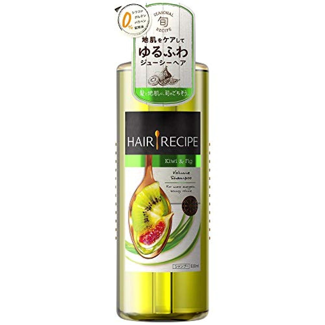 怠血まみれのカフェヘアレシピ シャンプー キウイ エンパワーボリュームレシピ ポンプ 530mL
