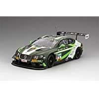 Bentleyコンチネンタルgt3 # 9 ADAC GT Masters Red Bullリング2016モデルカーin 1 : 43スケールby TrueScaleミニチュア