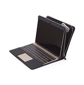 CAVALIERI Potare German Leather Macbook 12inch Cover (Black) カヴァリエリ ポタレ ジャーマンレザー マックブック12インチ カバー (ブラック)