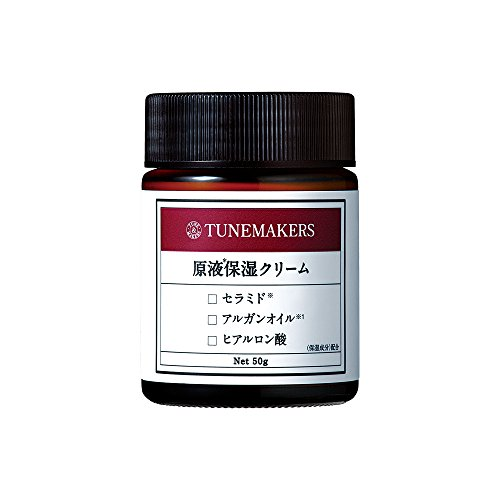 チューンメーカーズ 原液保湿クリーム 50g [セラミド・ヒアルロン酸配合]