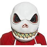 ハロウィーンマスク、顔をしかめるラテックスマスク、ハロウィーン、テーマパーティー、カーニバル、レイブパーティーに適しています。