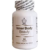 美馬メディカルエステ Inner Body Beauty ワイルドヤム配合 サプリメント 90粒入り (約1か月分)