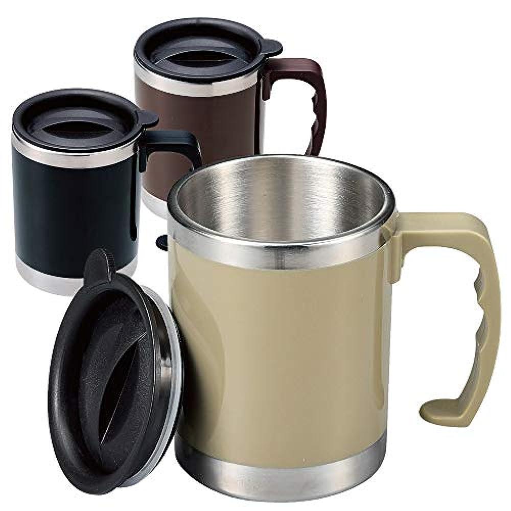 真実お風呂を持っているディレクトリフタ付き ステンレスマグ 320ml ステンレス製 蓋付き マグカップ マグボトル フタ付き コップ 保温保冷 アウトドア