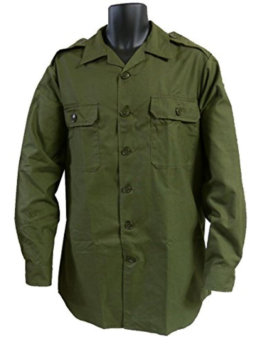 引退するはっきりしない不機嫌そうなカナダ軍 ワークシャツ OG