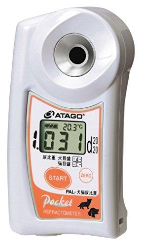 アタゴ(ATAGO)ポケット比重計 PAL-犬猫尿比重計