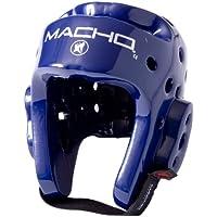 Macho Dyna空手/ Martial Arts Headgear – ロイヤルブルー – 中