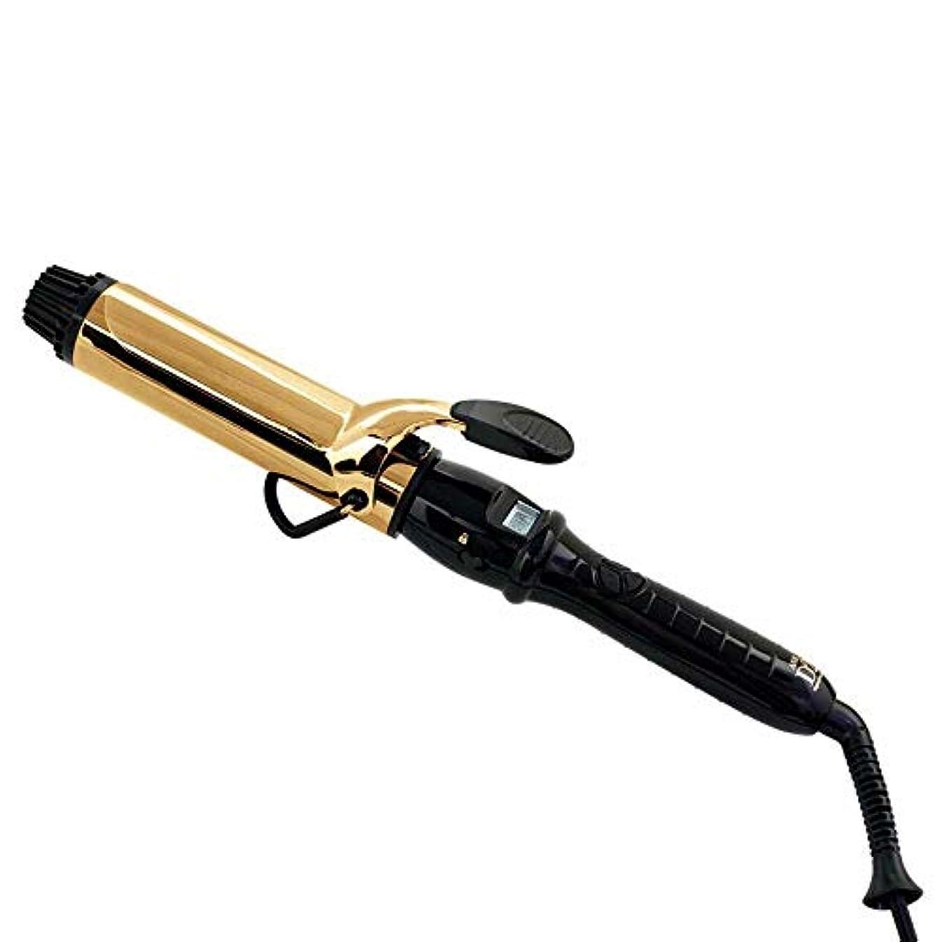ペパーミント雨の豊富なトリコインダストリーズ D2アイロン ゴールドバレル 32mm 1台