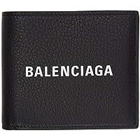 (バレンシアガ) Balenciaga メンズ 財布 Black Logo Everyday Wallet [並行輸入品]