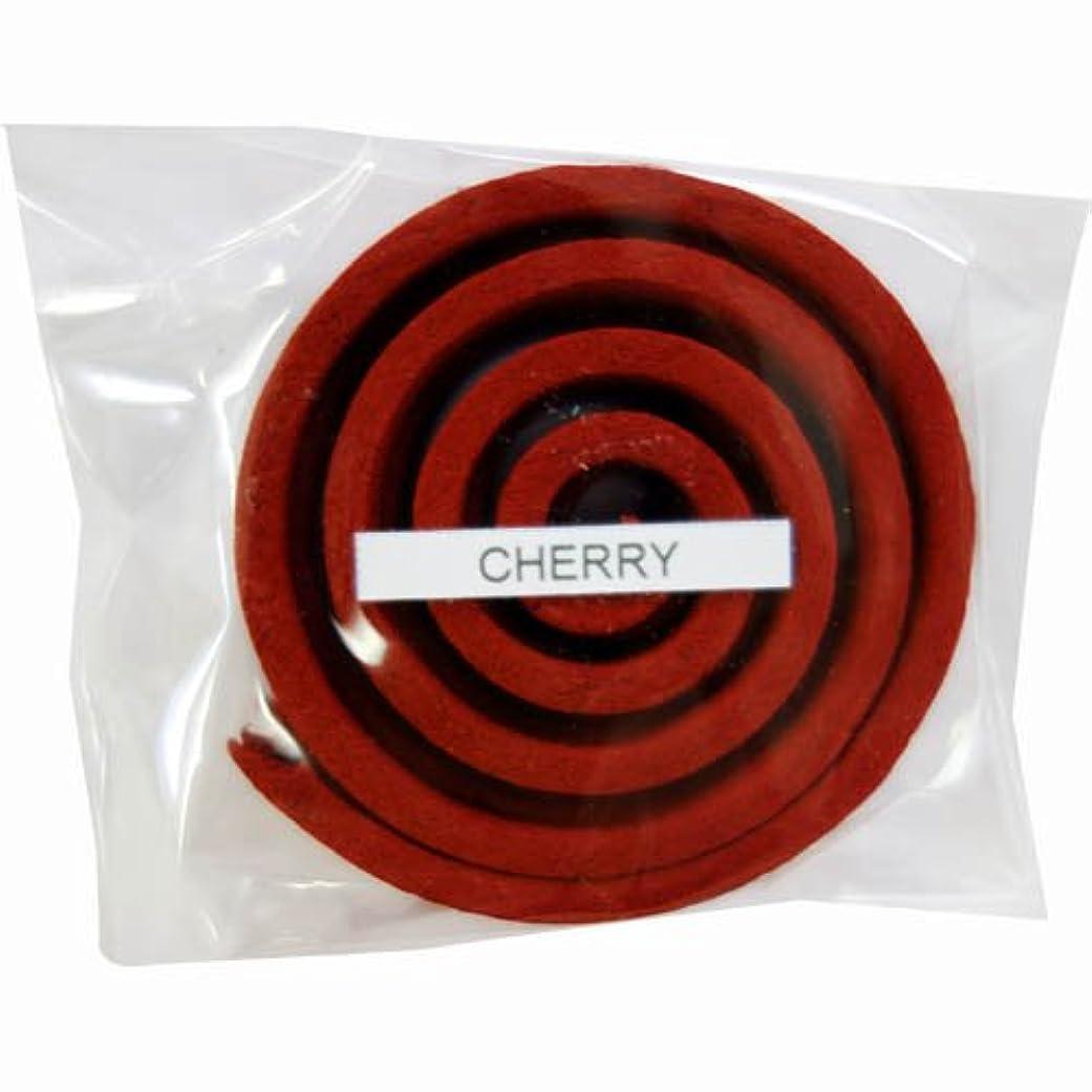 泥棒幸福素晴らしい良い多くのお香/うずまき香 CHERRY チェリー 直径5cm×5巻セット [並行輸入品]