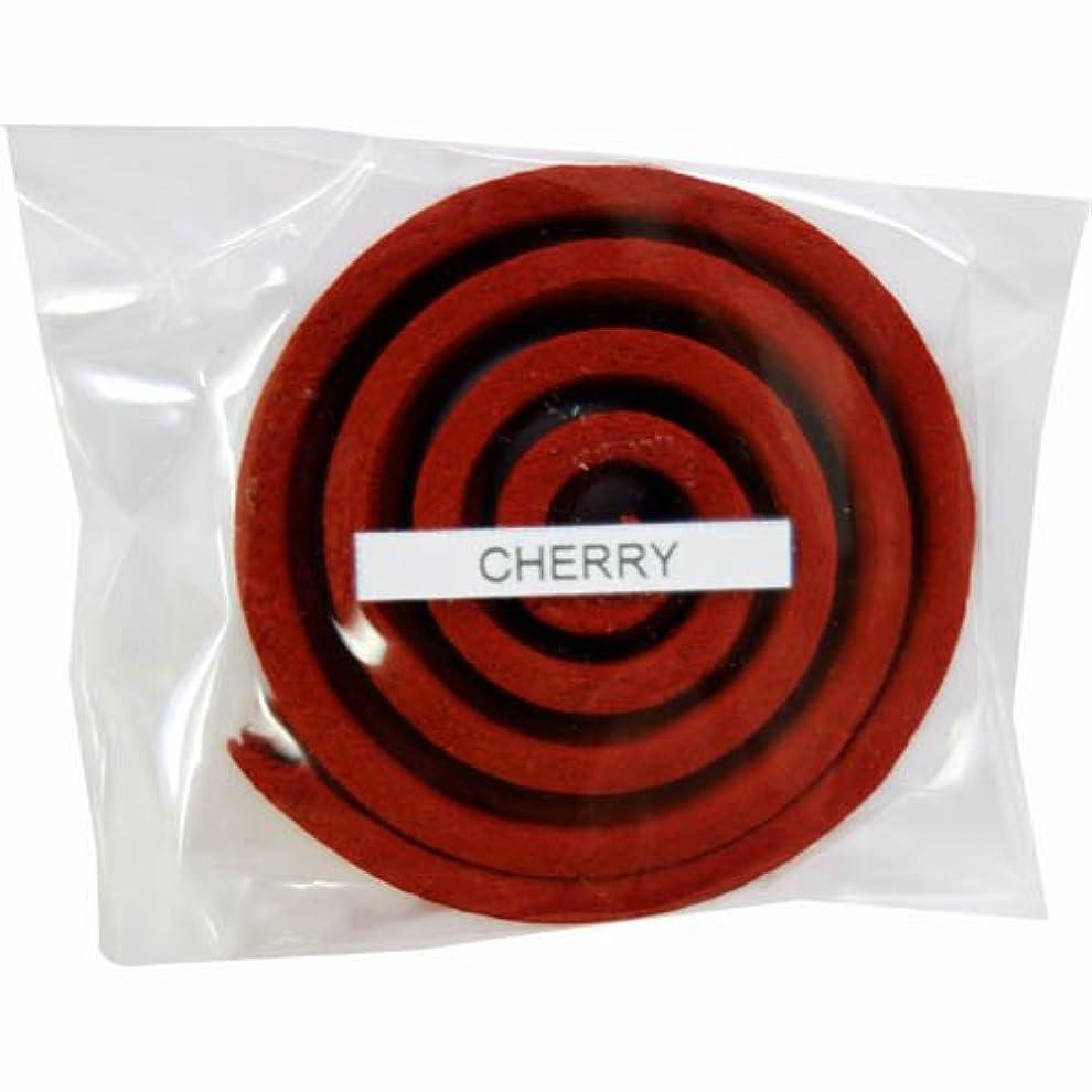 既に窓を洗うワックスお香/うずまき香 CHERRY チェリー 直径5cm×5巻セット [並行輸入品]