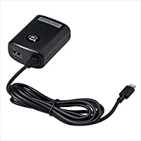 Lightning(ライトニング)コネクタ ACチャージャー+USB ブラック AL50 tso-300509